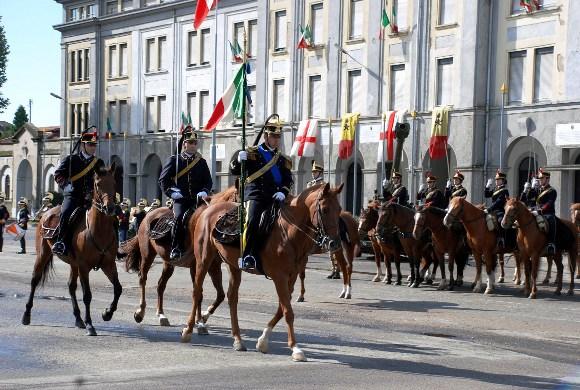 28 settembre 2007 - Nuovo Comandante di Reggimento - un momento della cerimonia
