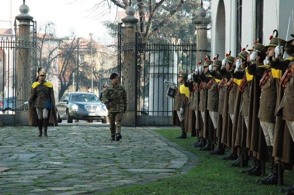 22 gennaio 2008 - Commiato del Comandante del 1° FOD