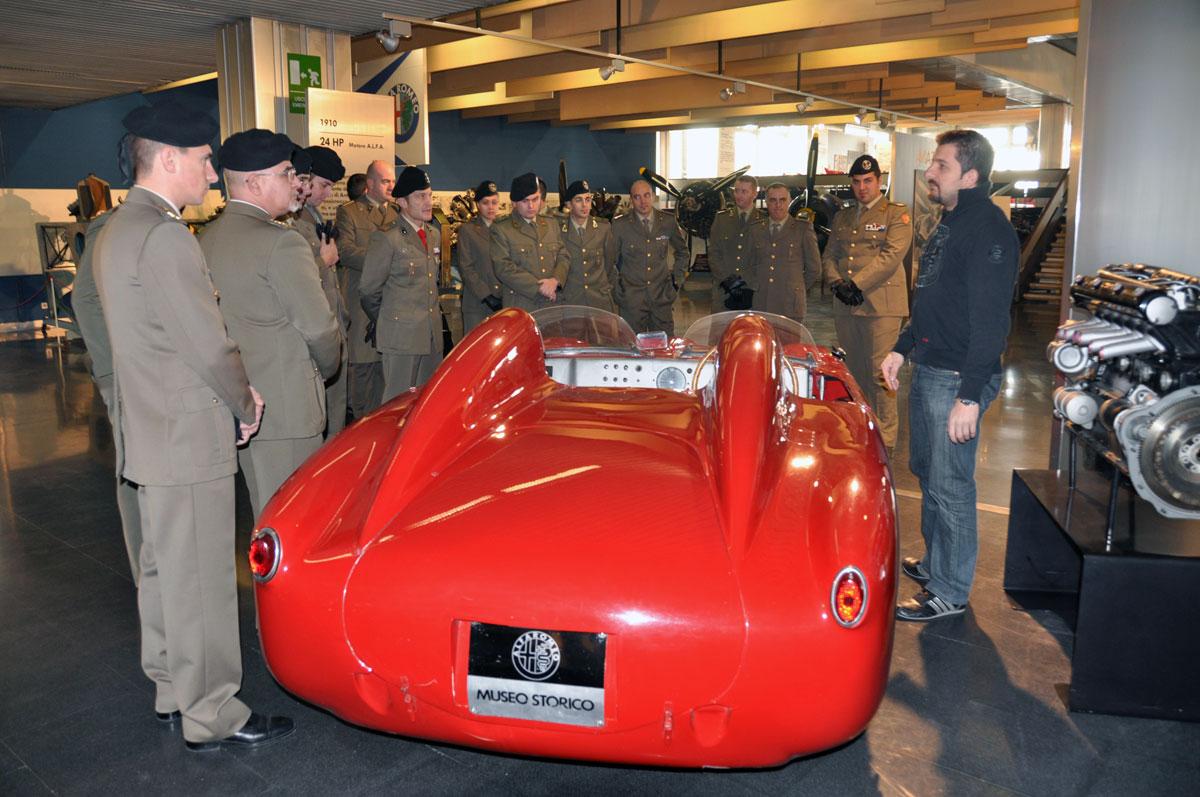 Le Voloire visitano il Museo storico dell'Alfa Romeo di Arese