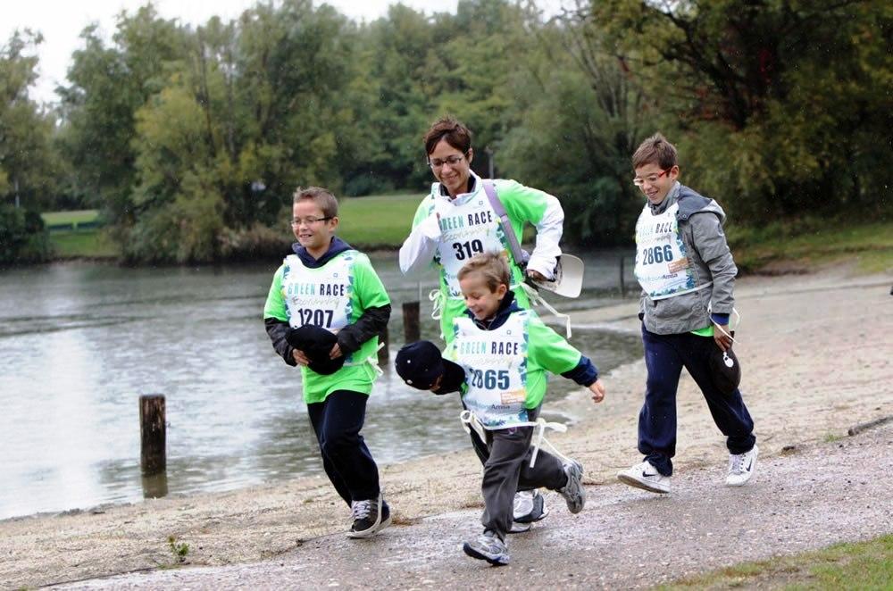 """""""Green Race"""": la pioggia non ferma gli eco-atleti"""