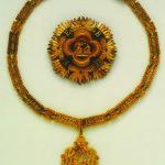 Collare e placca in oro dell'ordine della S.S.Annunziata di Alfonso Ferrero della Marmora (1857)