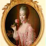 François-Hubert Drouais, La Contessa di Provenza (Maria Giuseppina di Savoia), (1772)