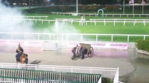 foto sezione a cavallo, ippodromo Milano 2